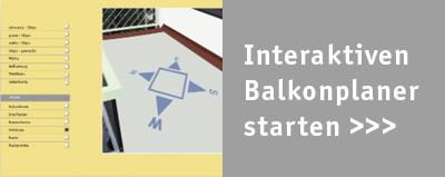Interaktiver Balkonplaner